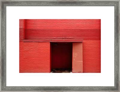 Ketchup Wall Framed Print