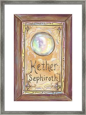 Kether Framed Print