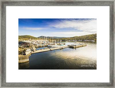 Kettering Boat Harbour Framed Print by Jorgo Photography - Wall Art Gallery
