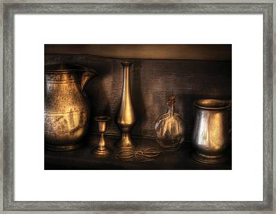 Kettle - Ready For A Drink Framed Print by Mike Savad