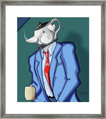 Kettle Framed Print by Zumie
