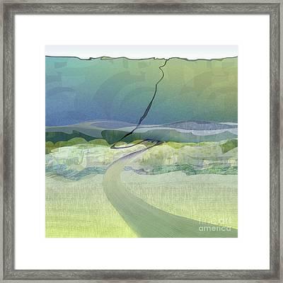 Keuka Incline  Framed Print by CR Leyland