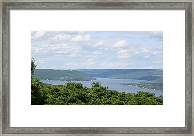 Keuka Lake Framed Print by Timothy Wahl