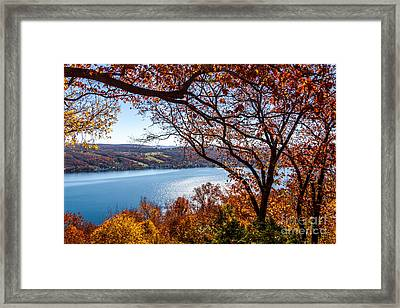 Keuka Lake Vista Framed Print
