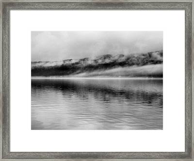 Keuka Mists Framed Print