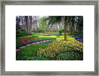 Keukehof Botanic Garden 2015 Framed Print