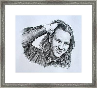 Kevin Daniel Yates Framed Print by Mike Ivey