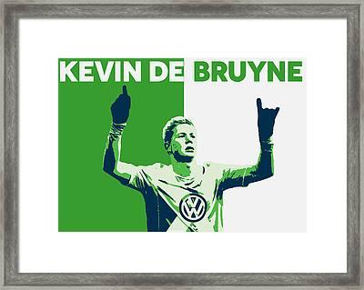 Kevin De Bruyne Framed Print by Semih Yurdabak