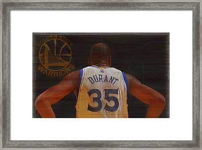 Kevin Durant Golden State Framed Print