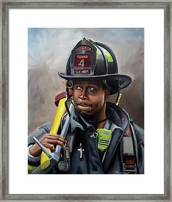 Kevin Framed Print