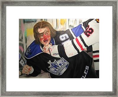 Kevin Westgarth And John Scott Framed Print by Brian Schuster