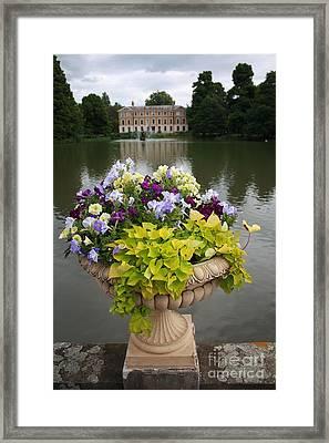 Kew Gardens Scene Framed Print