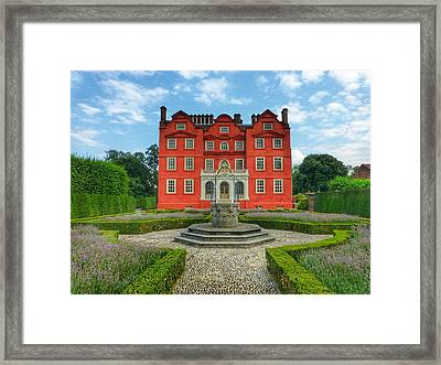 Kew Palace Framed Print by Connie Handscomb