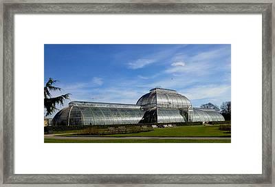 Kew's Palm House Framed Print