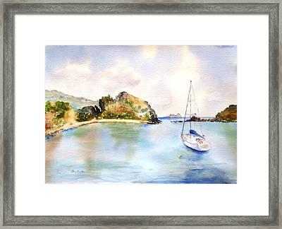Key Bay, Peter Is. Framed Print