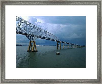 Key Bridge Framed Print