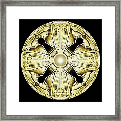 Key Knob Framed Print