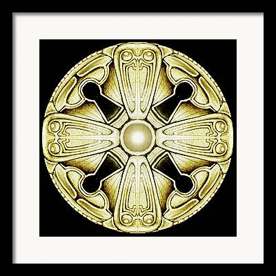 Knob Digital Art Framed Prints