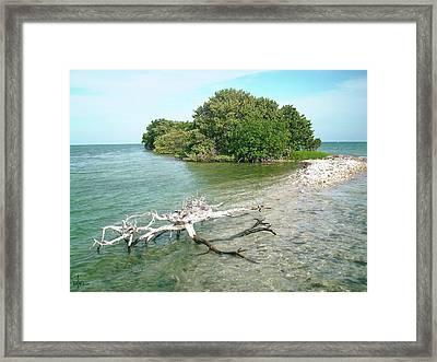Key Largo Out Island Framed Print