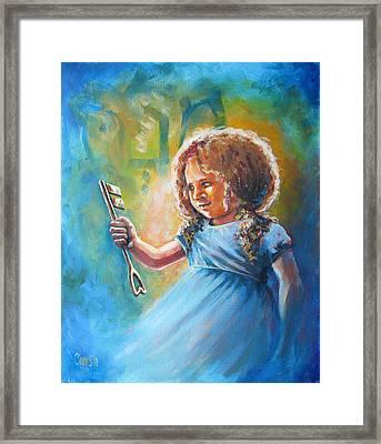 Key Of Heaven Framed Print