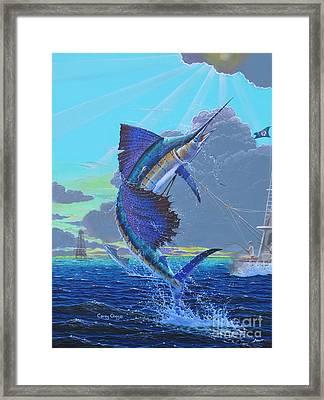 Key Sail Off0040 Framed Print by Carey Chen