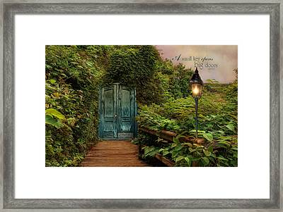 Key To Dreams Framed Print by Robin-Lee Vieira