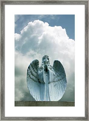 Key West Angel #5 Framed Print