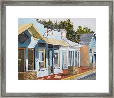 Key West Bahama Village Framed Print by John Schuller