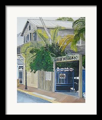 Key West Paintings Framed Prints