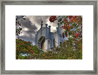 Key West Church Framed Print by William Wetmore