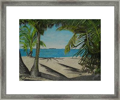 Key West Clearing Framed Print by John Schuller