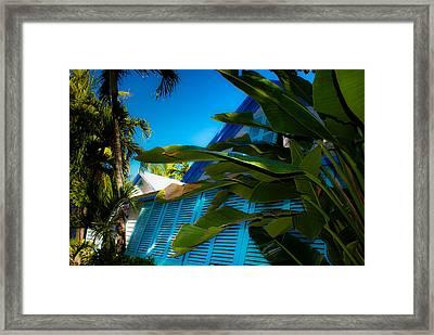 Key West House Framed Print by Patrick  Flynn