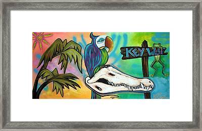 Key West Framed Print by Laura Barbosa