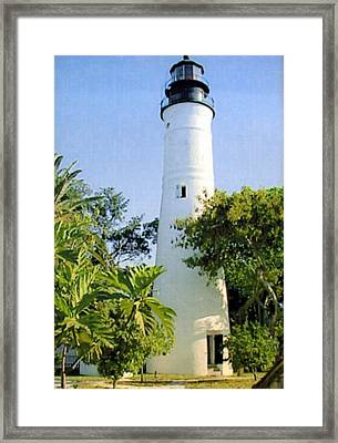Key West Light  Framed Print by Frederic Kohli