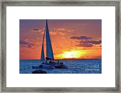 Key West Magic Framed Print