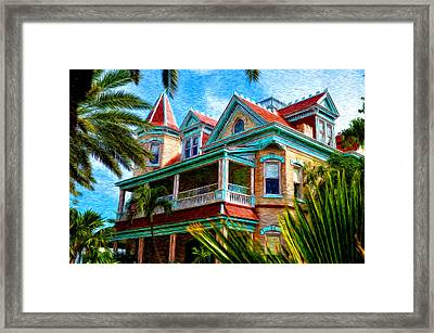 Key West Southern Most Hotel Framed Print by Bill Cannon