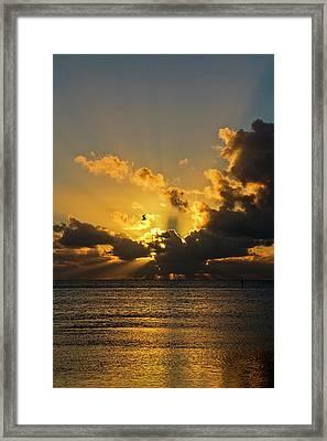 Key West Sunrise 39 Framed Print