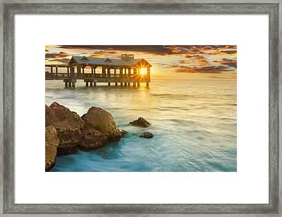 Key West Sunrise - Craigbill.com - Open Edition Framed Print by Craig Bill