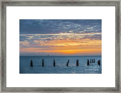 Key West Sunset Framed Print by Elena Elisseeva