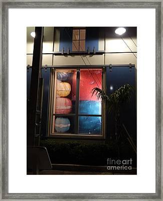 Key West Window Framed Print
