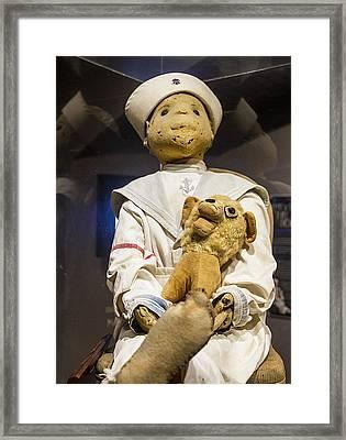 Key Wests Robert The Doll Framed Print by Bob Slitzan