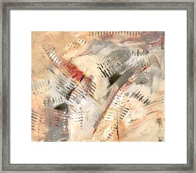 Keyboard Rhythm Framed Print
