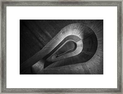 Keyhole Framed Print