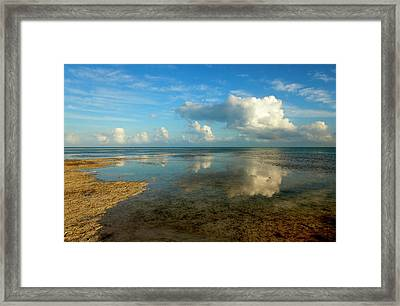 Keys Reflections Framed Print by Mike  Dawson