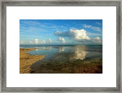Keys Reflections Framed Print by Mike  Dawson