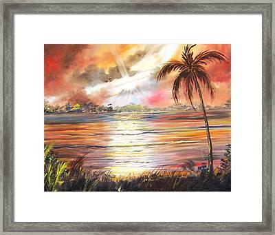 Keys Sunrise, Sunset Framed Print
