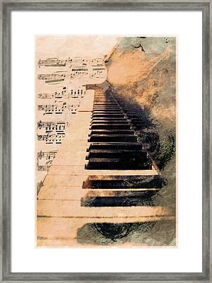 Keys To Greatness  Framed Print by Aaron Berg