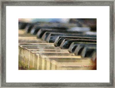 Keys To My Heart Framed Print