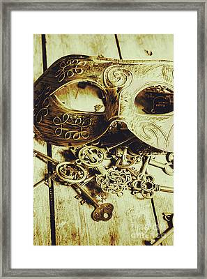 Keys To The Kingdom Framed Print