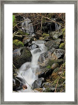 Keystone Framed Print by Rod Wiens